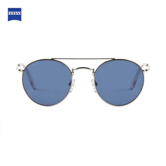 ASHBURY RANGER DOUBLE SILVER WITH BLUE LENS
