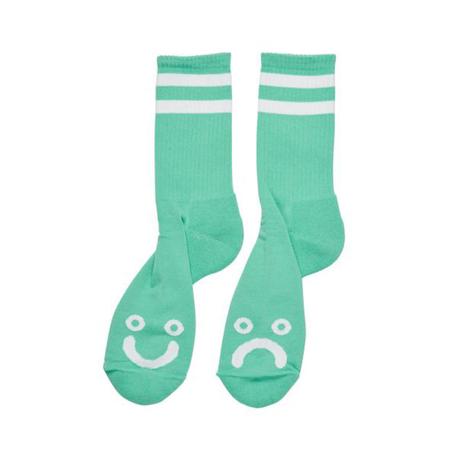 POLAR HAPPY SAD SOCKS - MINT
