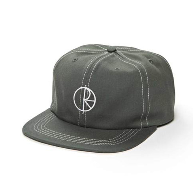 POLAR CONTRAST CAP - GREY GREEN