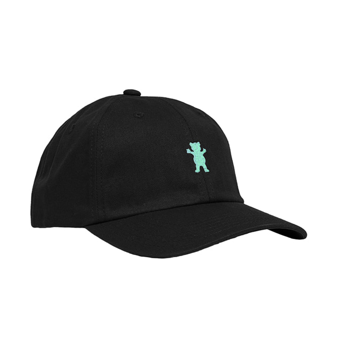 GRIZZLY OG BEAR STRAPBACK - BLACK/TIFFANY