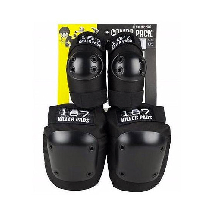 187 KILLER PADS PRO COMBO PACK - BLACK
