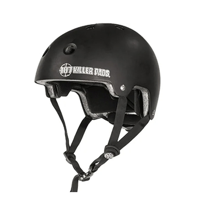 187 KILLER PADS CERTIFIED SKATE HELMET - BLACK