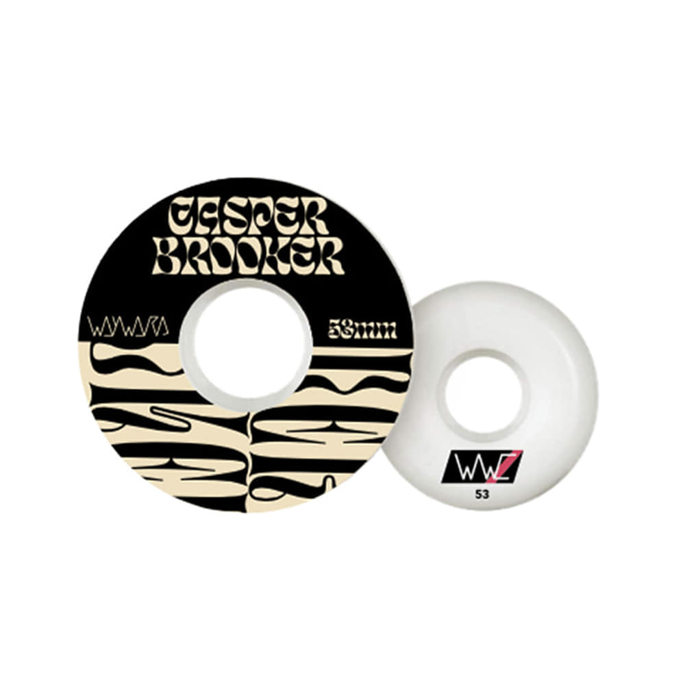WAYWARD CASPER BROOKER - WHEELS FUNNEL CUT 53MM