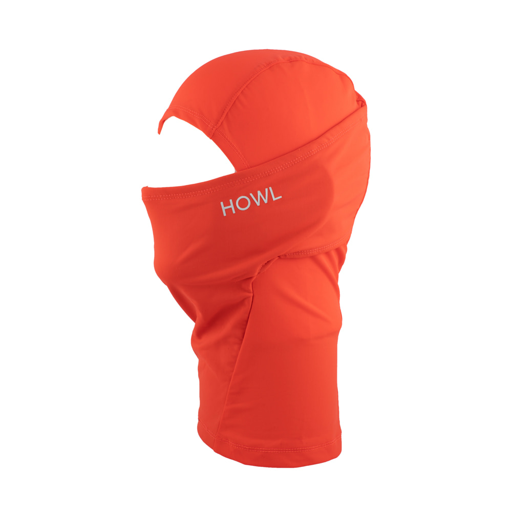 HOWL SUPPLY  LEGACY FACEMASK RED