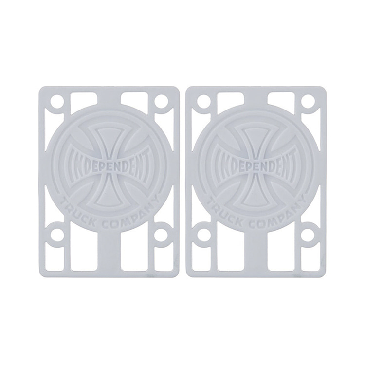 "INDEPENDENT RISER PADS 1/8"" - WHITE"