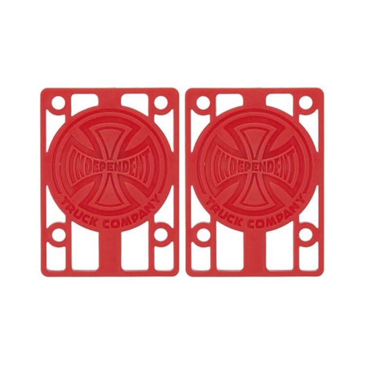 "INDEPENDENT RISER PADS 1/8"" - RED"