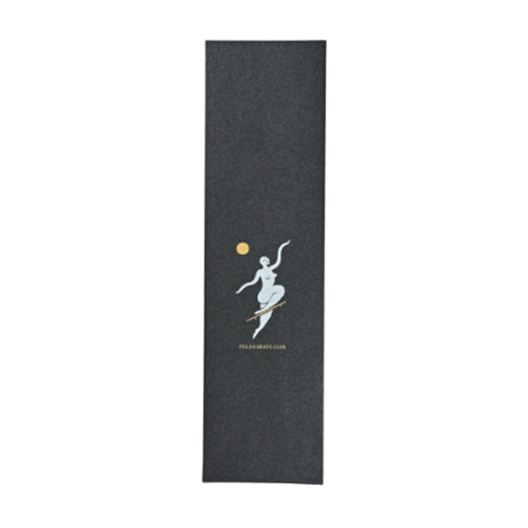 POLAR POLAR SKATE CLUB GRIPTAPE - YELLOW