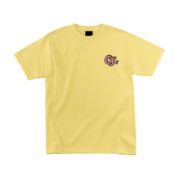 OJ WHEELS SKETCH BOOK LOGO TEE - BANANA