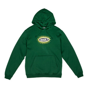GNARLY PRIMITIVE PULLOVER HOODIE GREEN